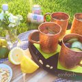 Cocktail Moscow Mule im Kupferbecher