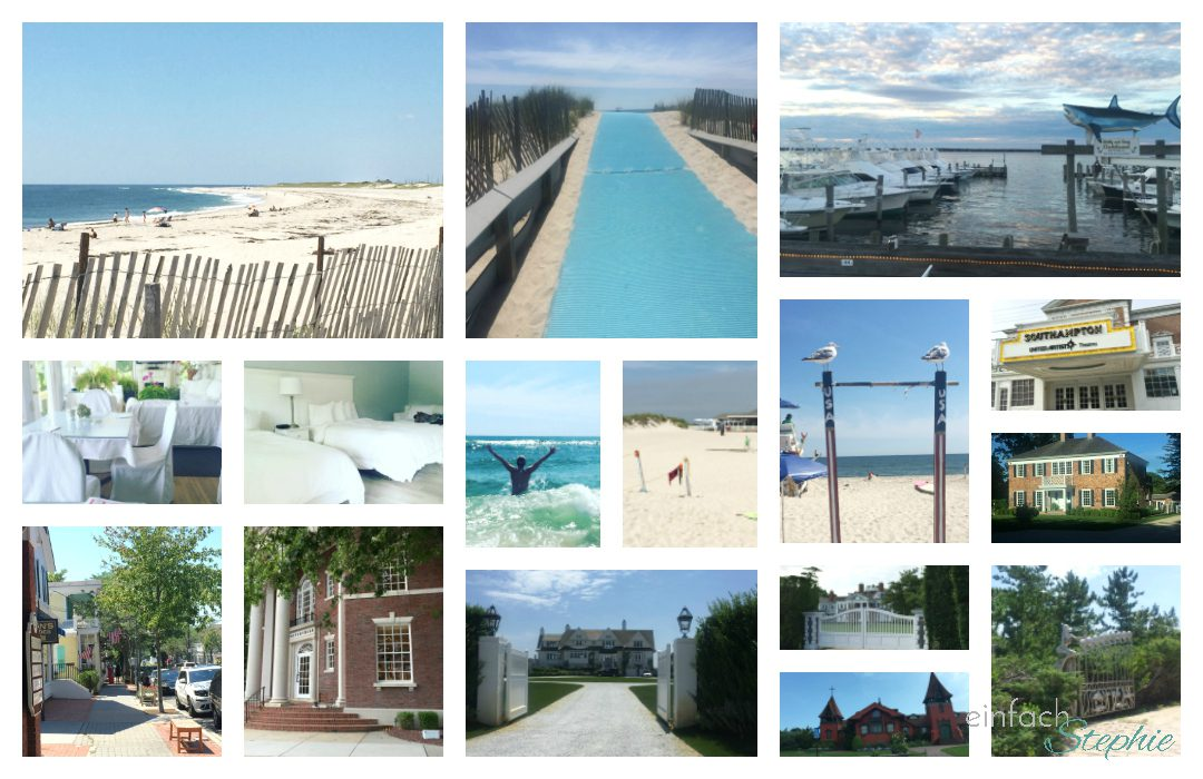 Southampton, USA Bildcollage