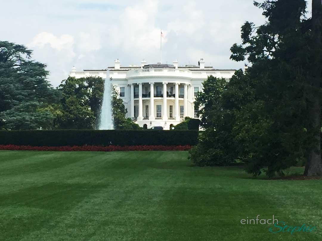 Washington D.C. Das Weiße Haus