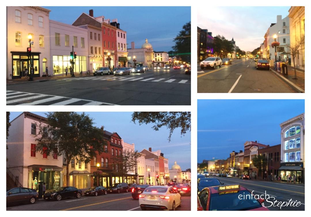 Washington D.C., Georgetown am Abend