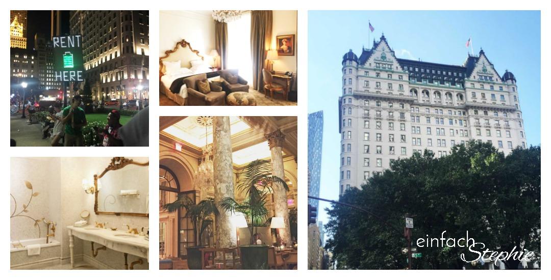 Manhattan NYC mit Kindern, Plaza Hotel NYC