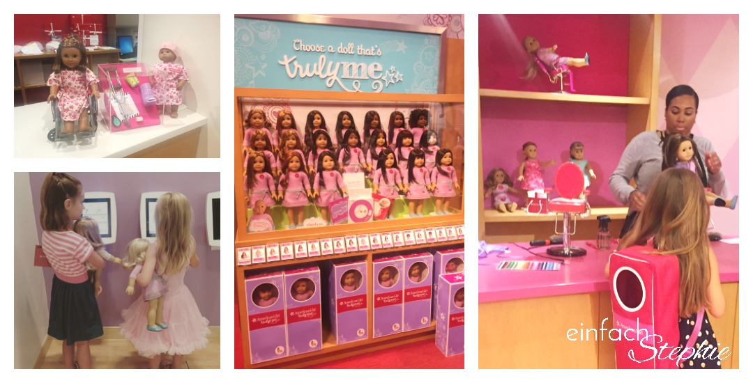 Manhattan NYC mit Kindern. American Girl Shop