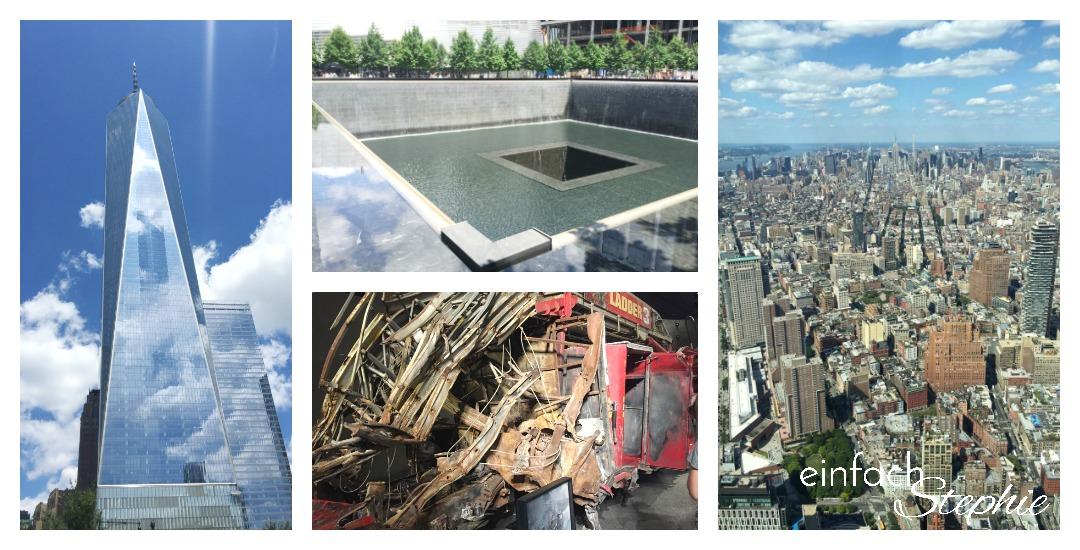 Manhattan NYC mit Kindern. One World Center