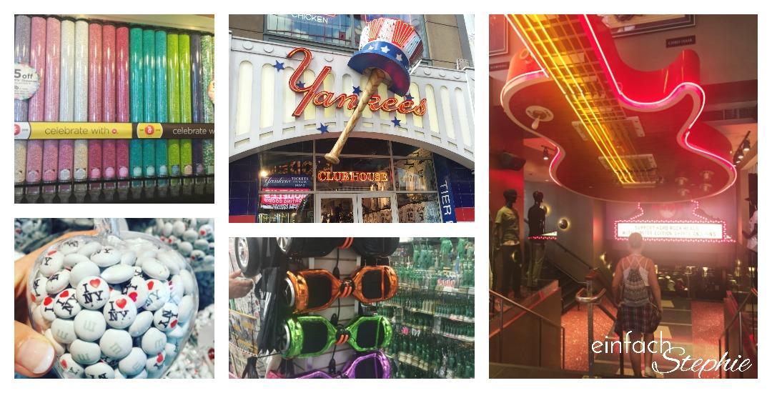 Manhattan NYC mit Kindern. Interessante Geschäfte