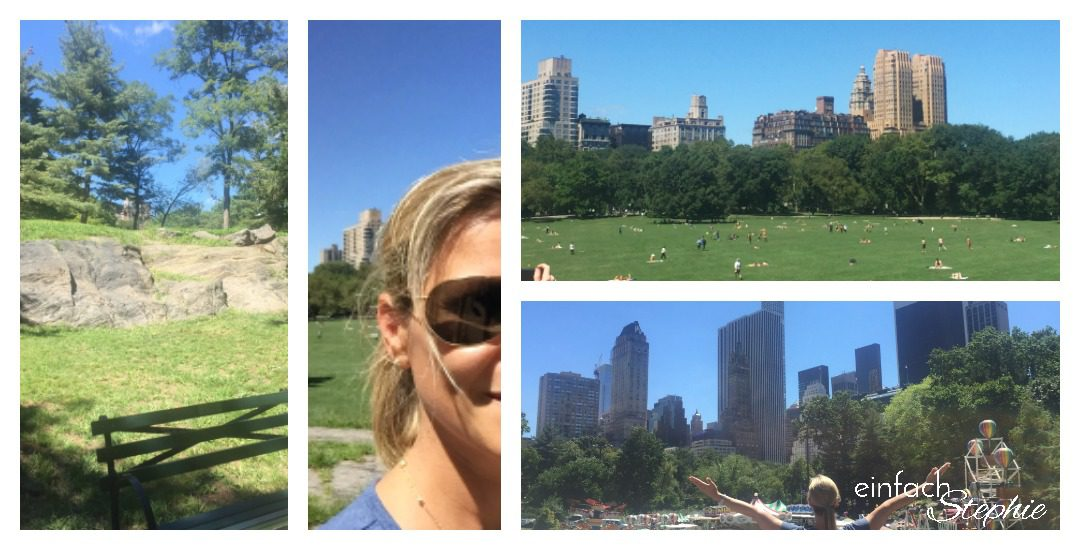 Manhattan NYC mit Kindern. Toben im Central Park