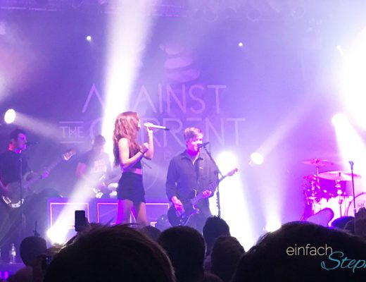 Bewegendes im Oktober 2016: Konzertbesuch Against the Current