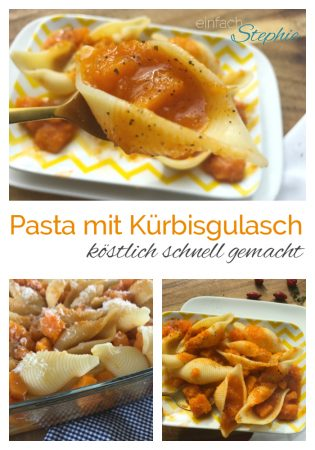 vegetarisches Gulasch. Kürbisgulasch von www.einfachstephie.de
