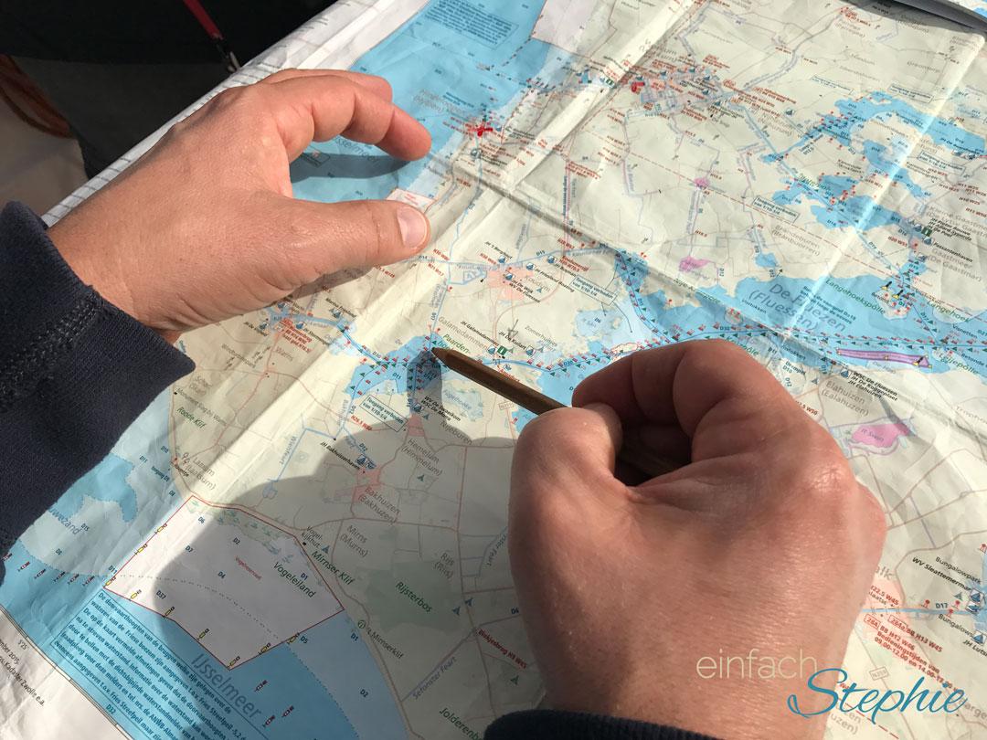 Per Hausboot durch Holland mit der Großfamilie. Routenplanung