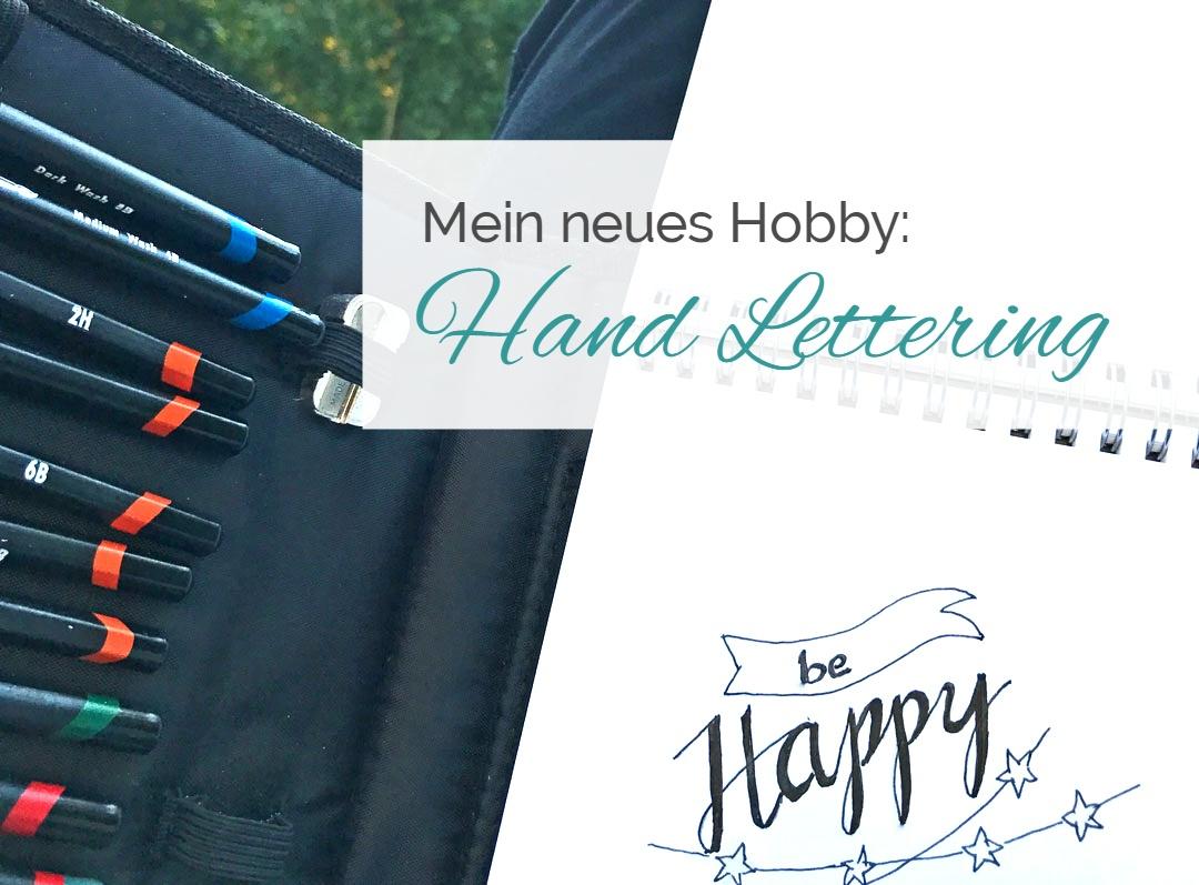 Mein Neues Hobby Hand Lettering Lernen Einfach Stephie