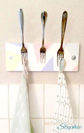 DIY Möbel: Handtuchhalter selber machen