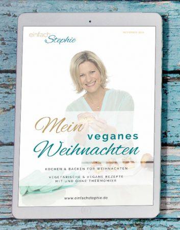 """kostenloses eBook """"Mein veganes Weihnachten"""""""