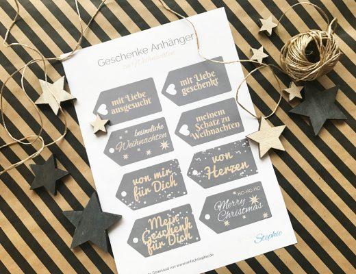 Geschenkanhänger kostenlos ausdrucken