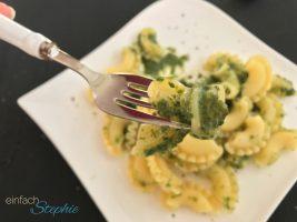 Nudeln mit Spinat - einfach köstlich