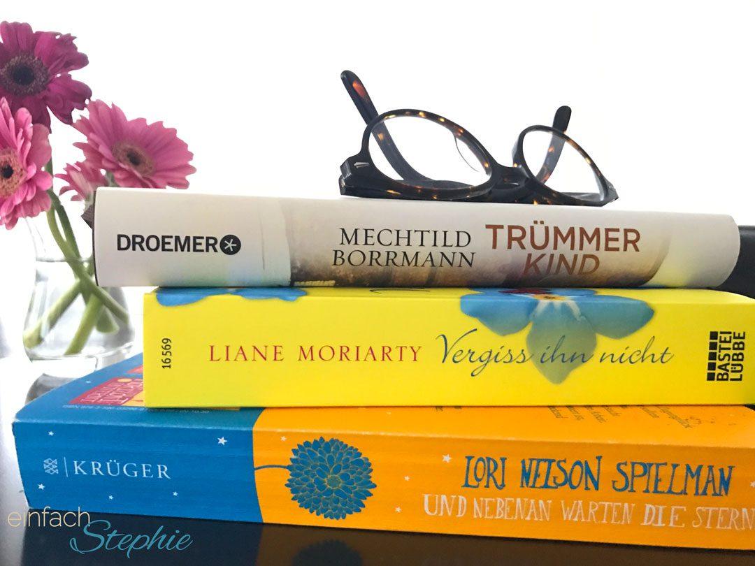 3 richtig gute Romane zum Schmökern!