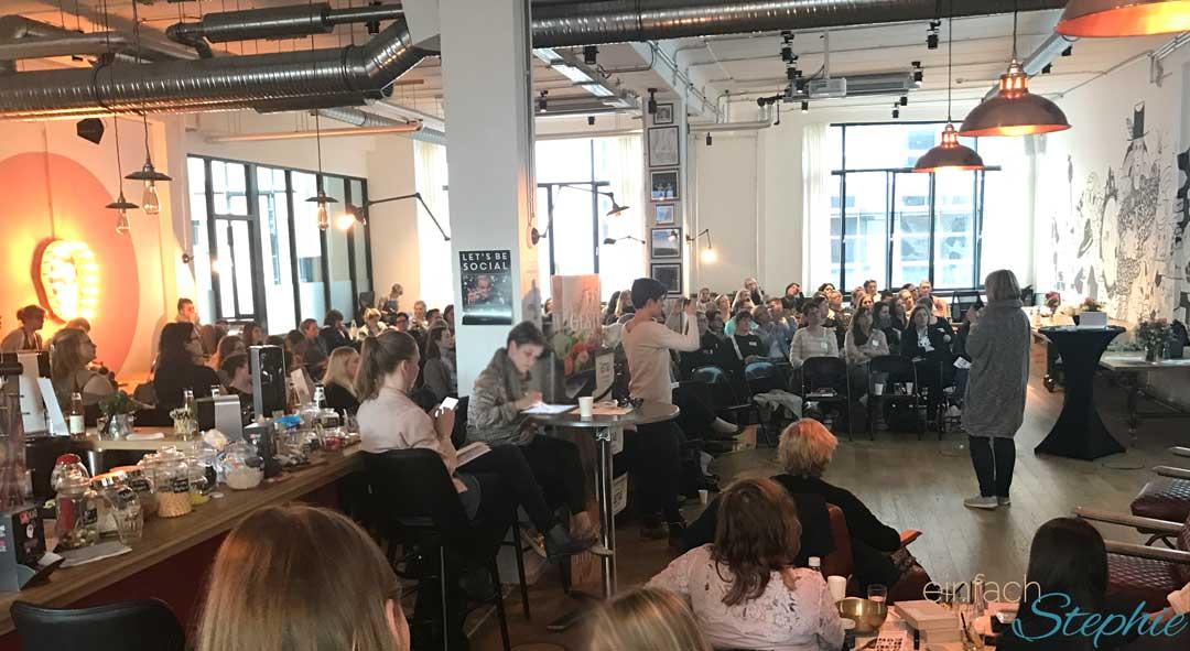 Etwa 130 Blogger hatten sich angemeldet zur Bloggerkonferenz in Hamburg