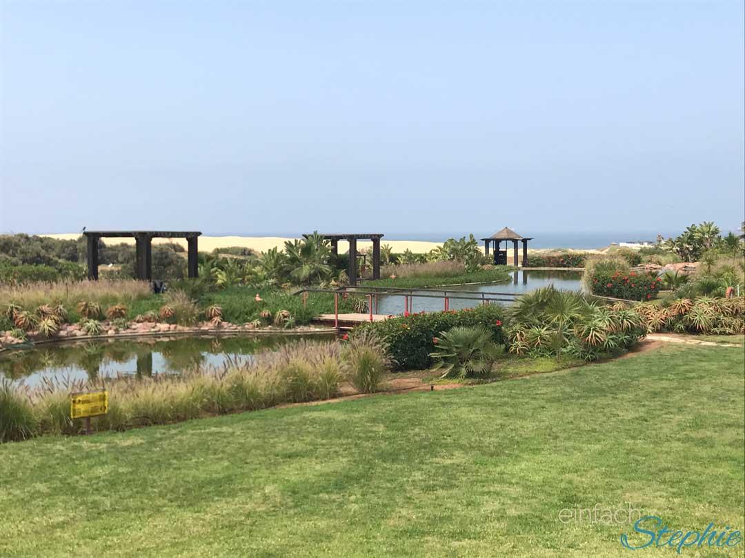 Robinson Club Agadir. Der Weg mit Blick zum Strand
