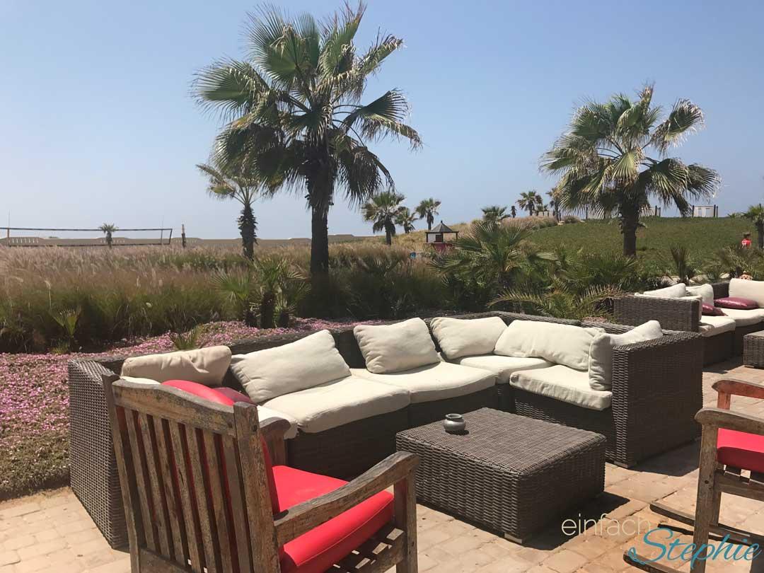Robinson Club Agadir. Chill Lounge am Strand