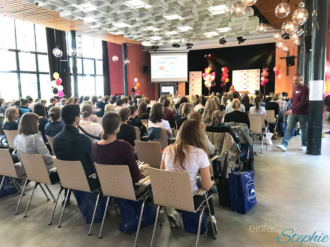 Bloggerkonferenz Blogfamilia 2017 in Berlin
