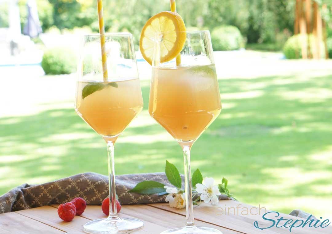 Apéro Paradisi by einfachStephie.de Den erfrischenden Sommer-Cocktail im Garten mit Freunden genießen