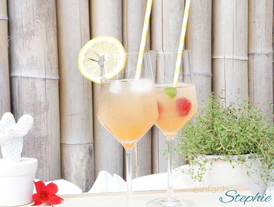 Apéro Paradisi by einfachStephie.de Den erfrischenden Sommer-Cocktail mit Freunden auf der Terrasse genießen