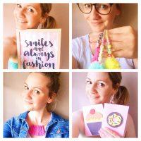 Christina vom Blog Happy Dings. Portrait-Collage