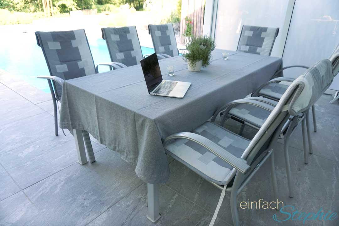 Outdoor Küche Ikea Usa : Ikea hack: tischdecke für großen tisch ohne näharbeit! ⋆ einfach
