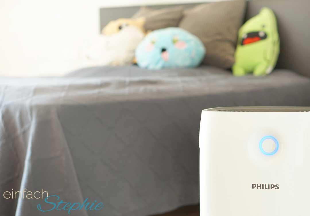 Gute Luft trotz Pollenallergie dank Philips Luftreiniger