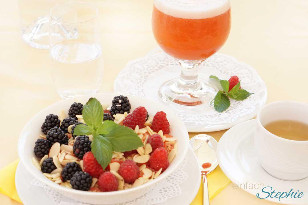 Basenfasten ist gesund. Basisches Frühstück