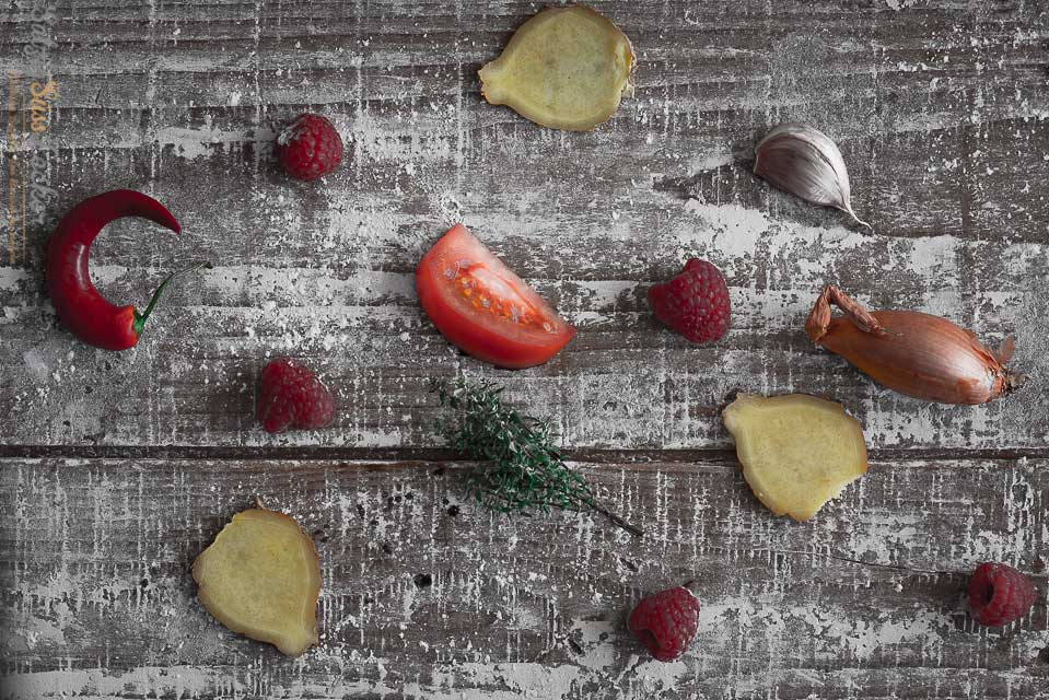Leckere vegane Saucen zum Grillen. Gemüse