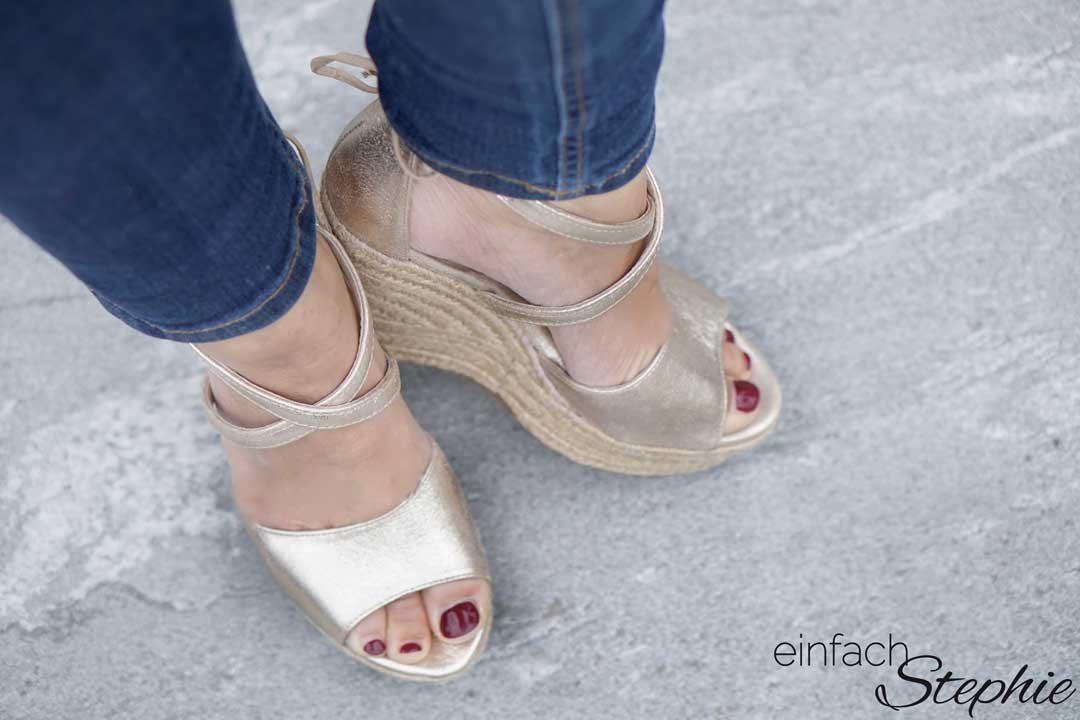 Drückende Schuhe weiten und dehnen mit Trick 17 ⋆ einfach