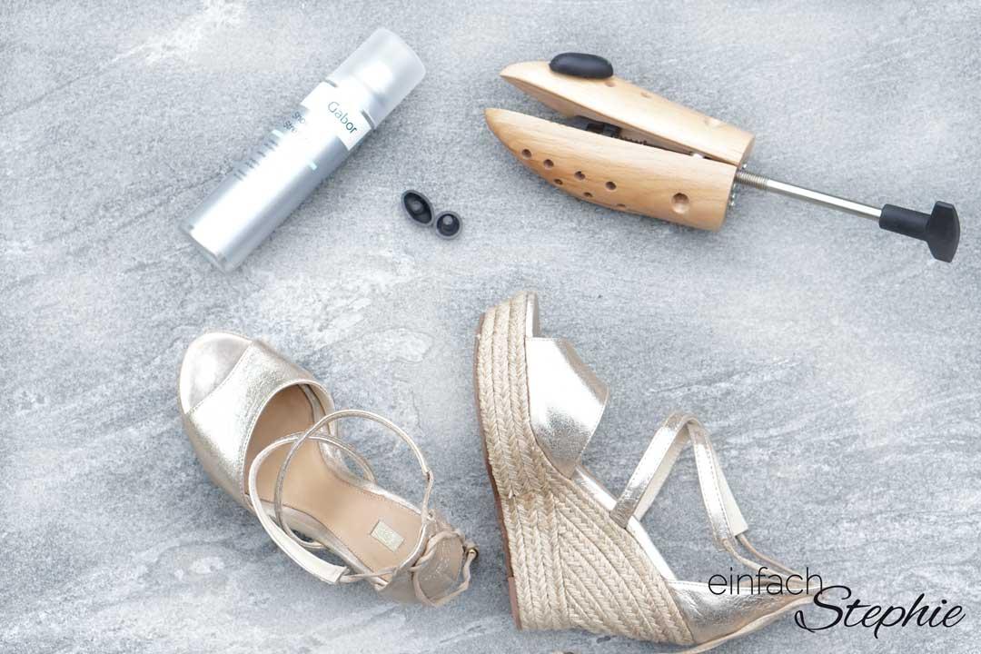 Zu enge Schuhe weiten mit einfachem Trick: Schuhspray und Schuhdehner