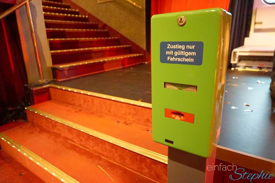 Hannover entdecken: GOP Theater Aufgang zur Bühne