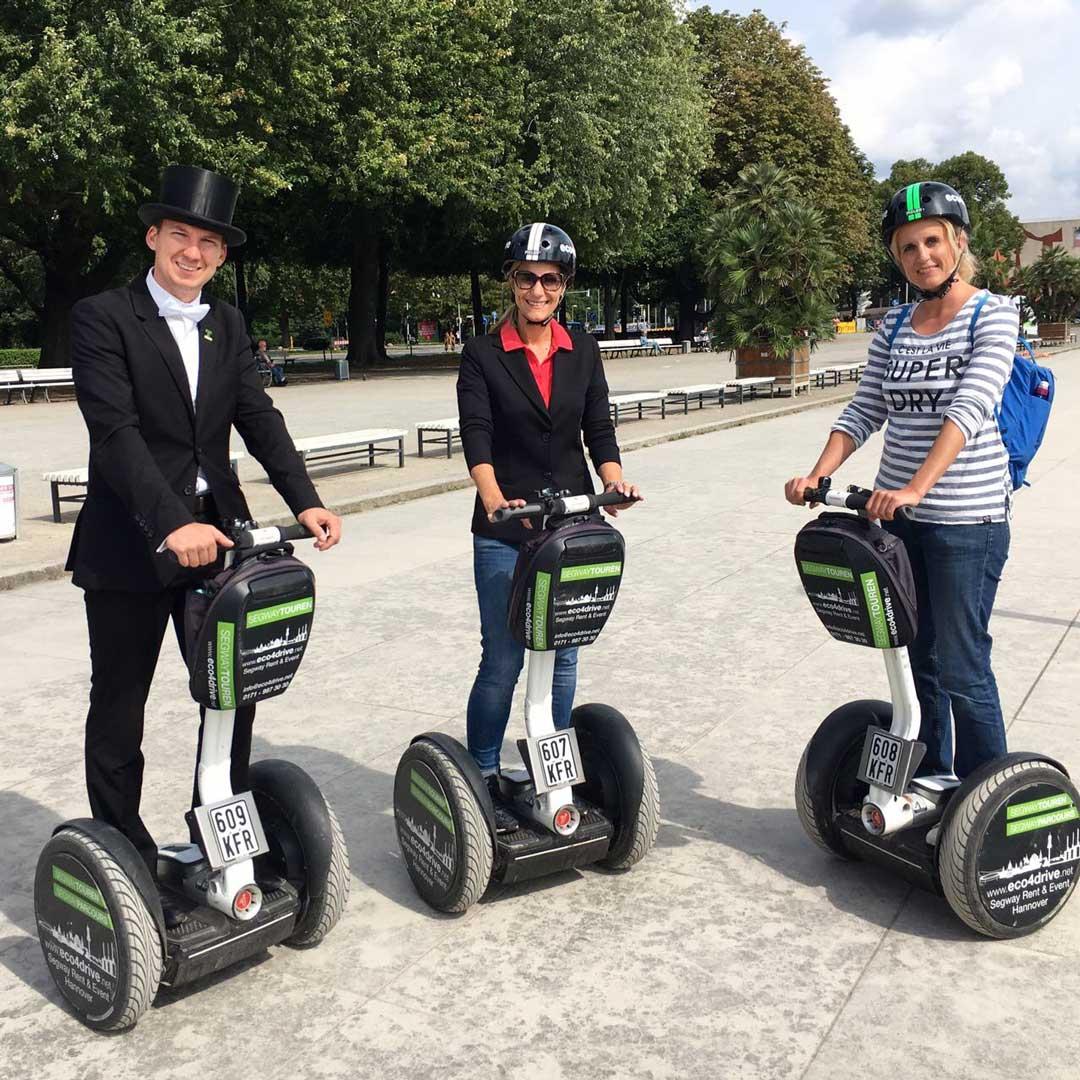 Hannover entdecken: Segway Tour mit Bruchmeister