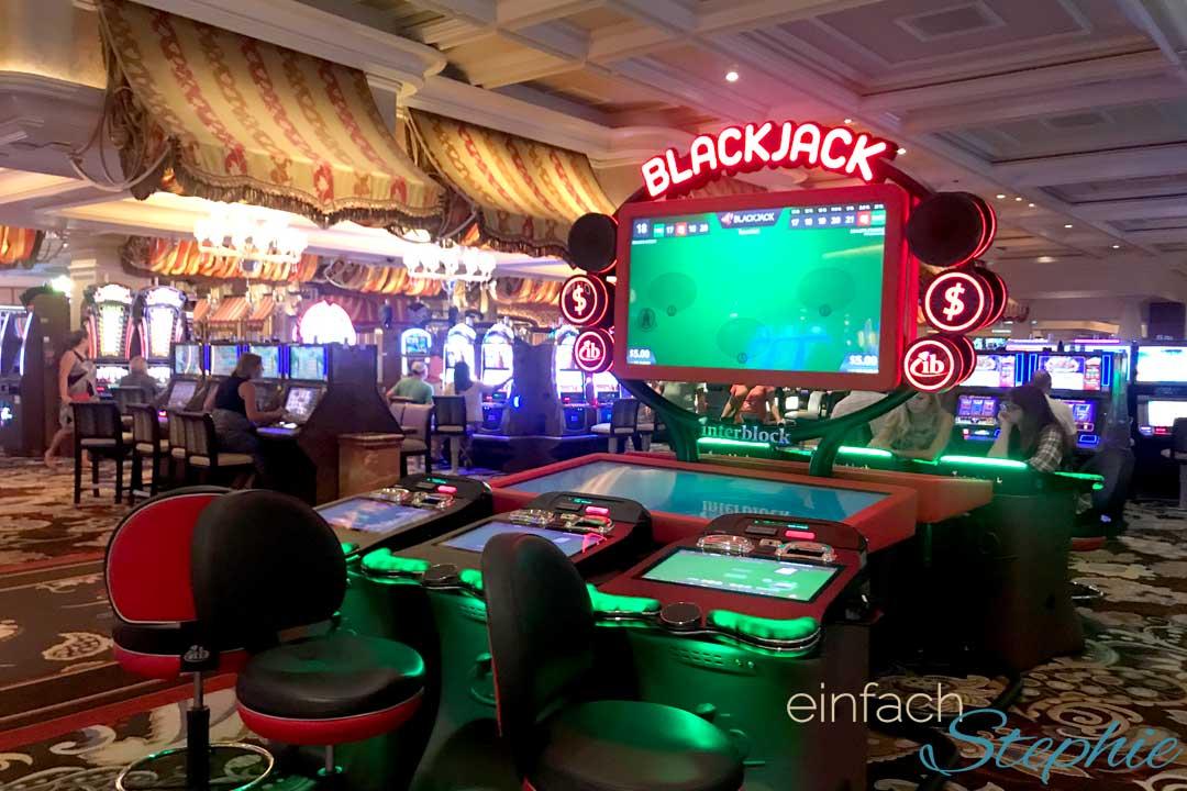 Familienurlaub in Las Vegas. Casino