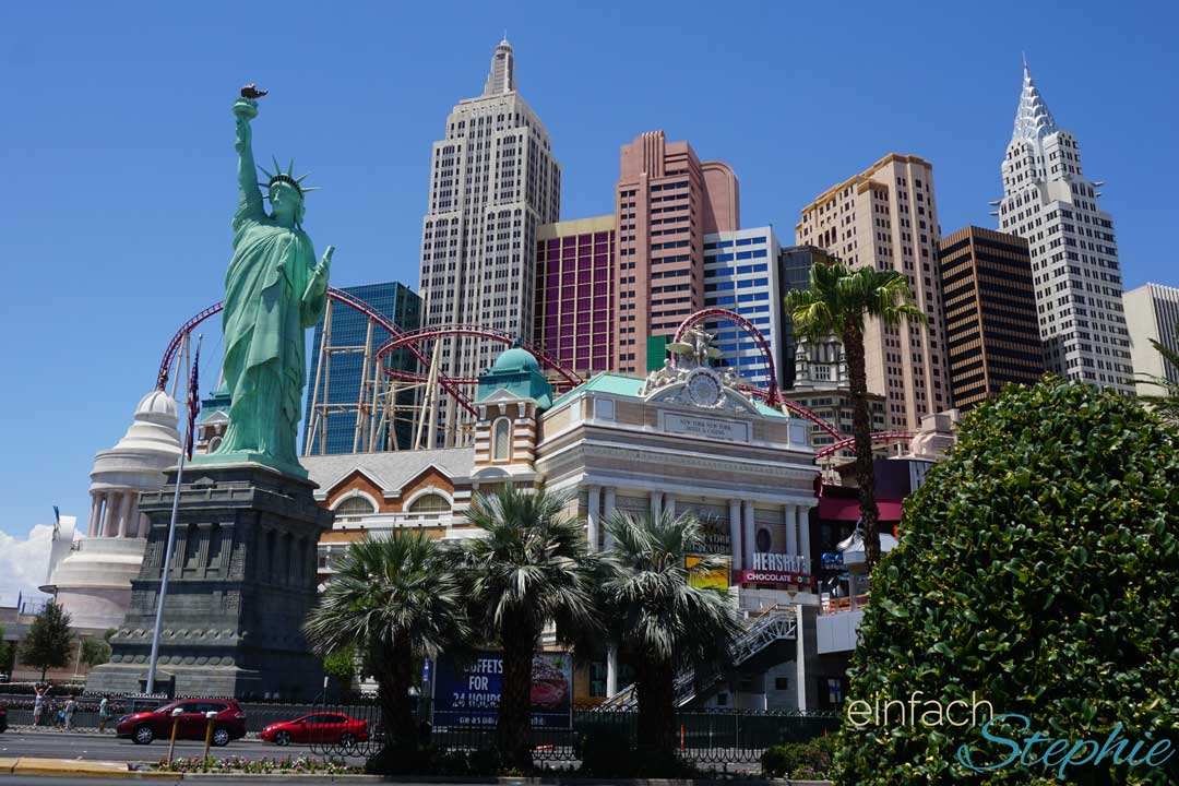 Familienurlaub Westküste USA Kalifornien mit Las Vegas. Las Vegas Strip