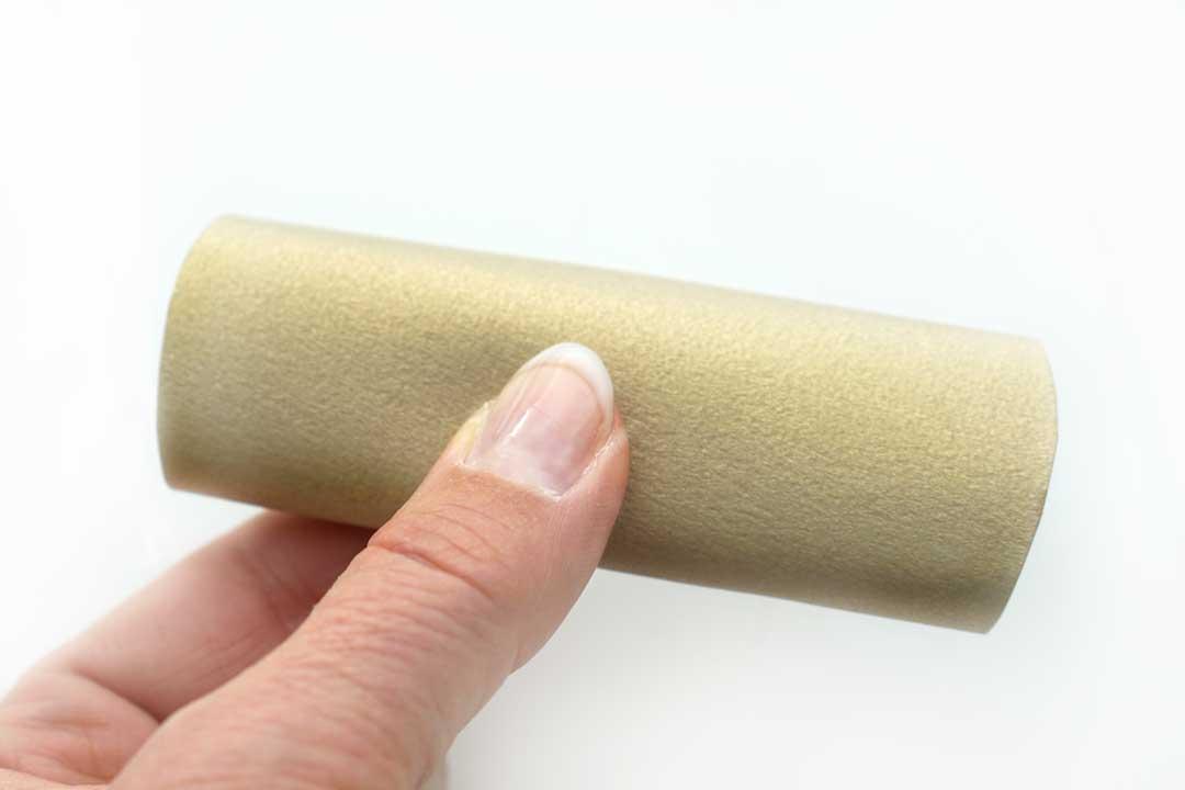 Glückskekse selber machen aus Papier. Anleitung Schritt 2