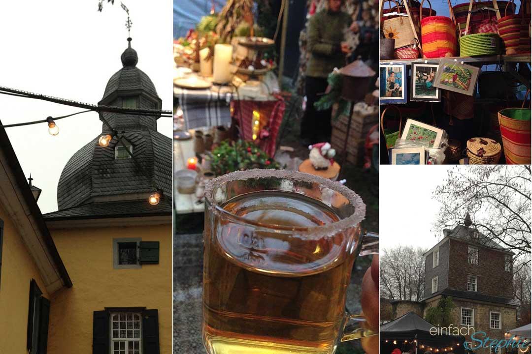 Romantische Weihnachtsmärkte am Schloss. Schloss Lüntenbeck