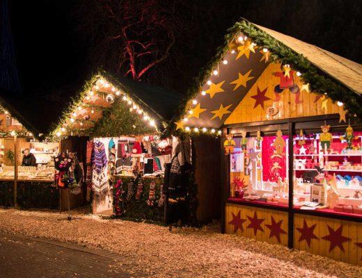 Romantische Weihnachtsmärkte am Schloss. Schlossweihnacht, Burgenweihnachtsmarkt
