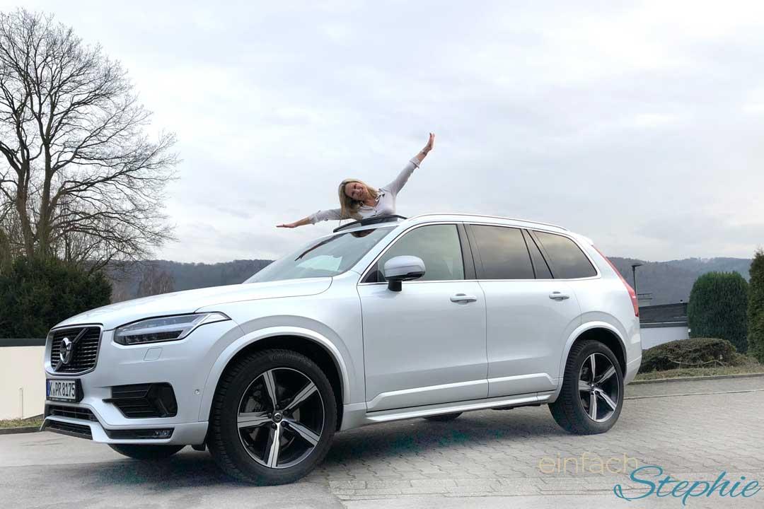 Coolster SUV Volvo XC90. Testfahrt quer durch Deutschland. Nur fliegen ist schöner