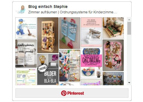 Pinterest Board Zimmer aufräumen für Kinder und Jugendliche. Gruppenboard von www.einfachstephie.de
