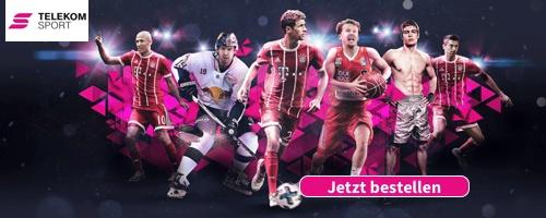 Telekom Sportpaket mit Sky Sport Kompakt. Informationen
