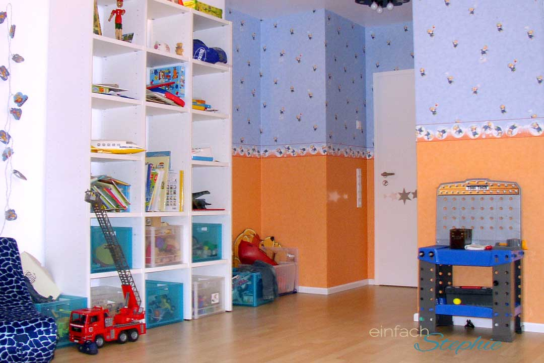 Kinderzimmer aufräumen im Grundschulalter