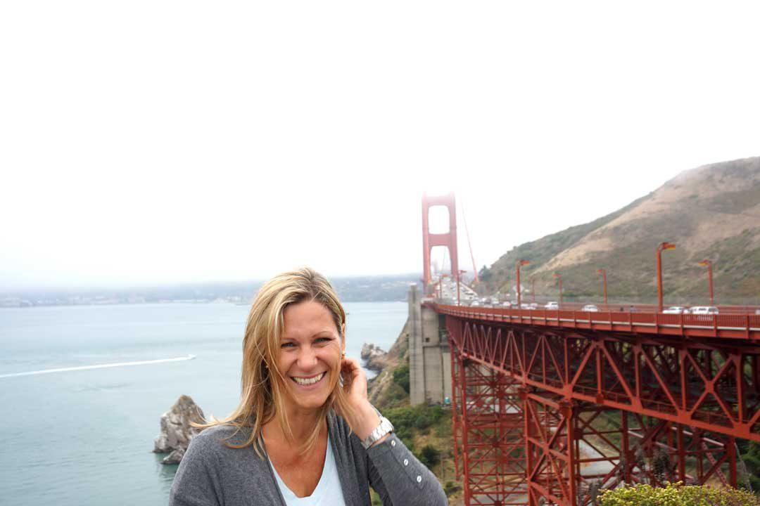 San Francisco mit Kindern erleben. Golden Gate Bridge