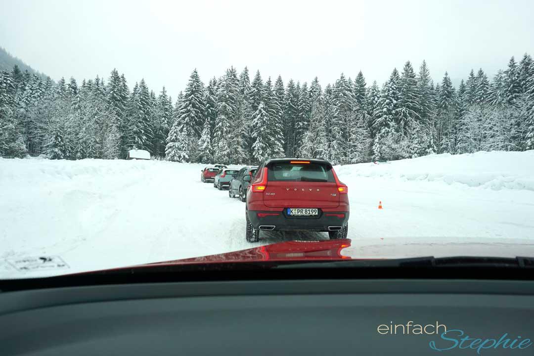 Volvo XC40 Wintertestfahrt Berchtegaden