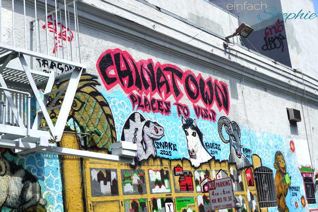 Westküste USA Roadtrip Kailfornien. San Francisco mit Kindern. Chinatown