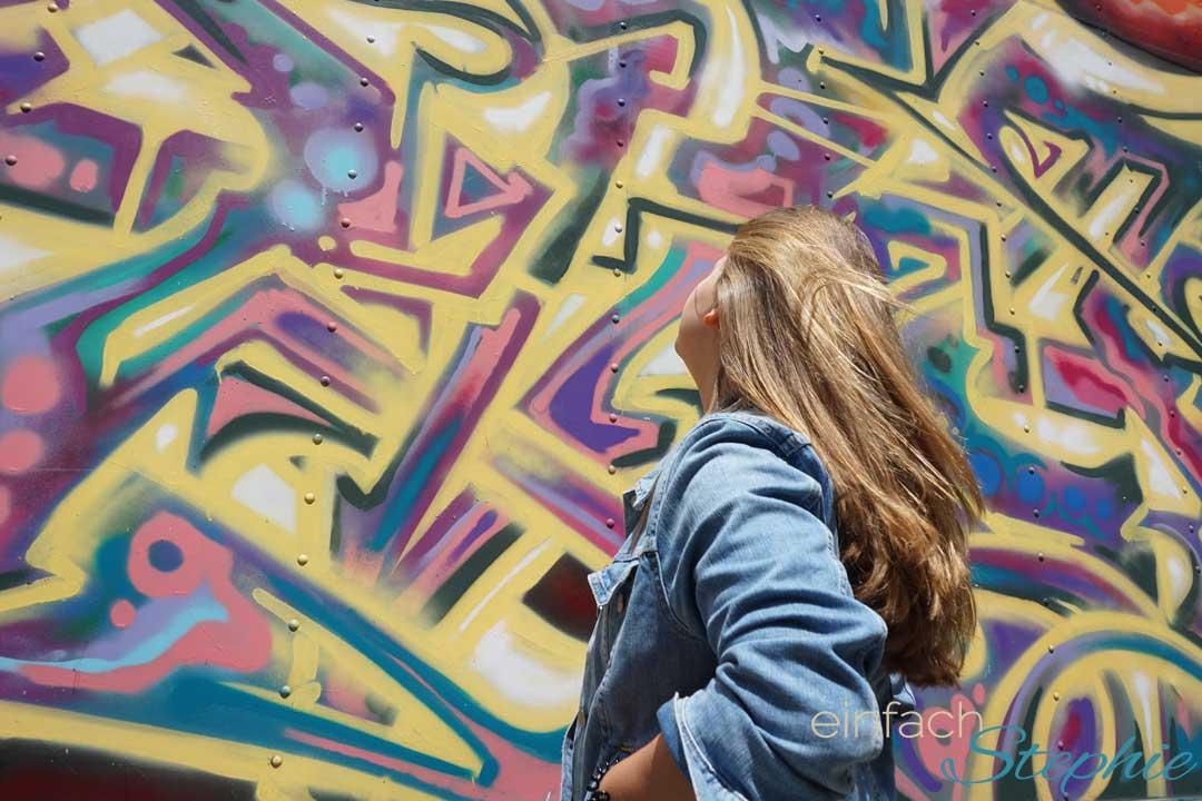 Instagram Post in San Francisco. Graffiti Wand