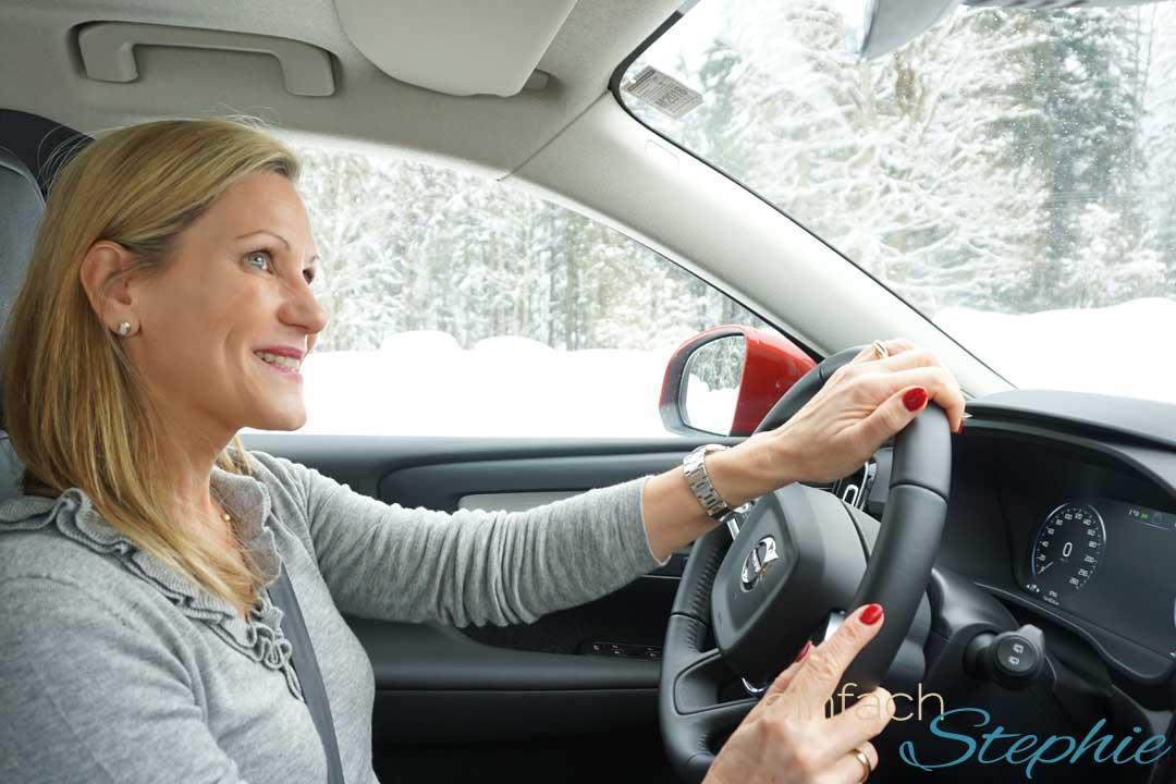 Wintertestfahrt 2018 Volvo XC40 mit www.einfachstephie.de