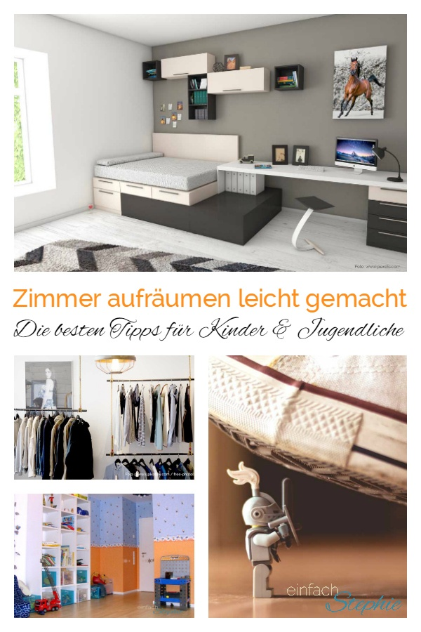 zimmer aufr umen leicht gemacht f r jedes alter vom kleinkind zum teenager einfach stephie. Black Bedroom Furniture Sets. Home Design Ideas