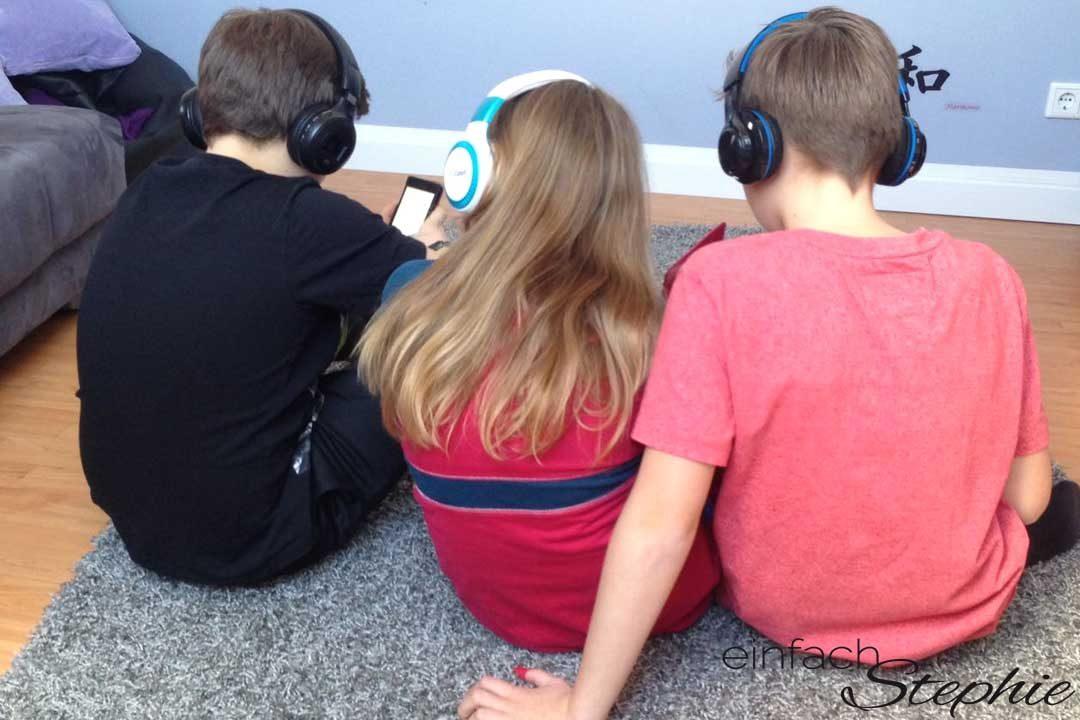 Kinder testen Deezer Family App. Jedem seine Musik