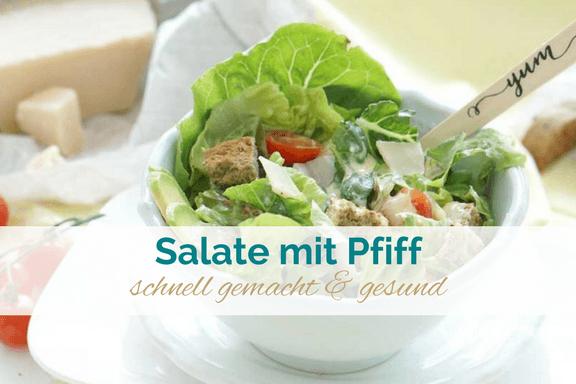 vegetarische und vegane Salate mit Pfiff
